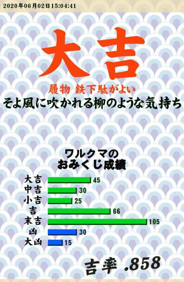 """今日のおみくじ!<br /> <a style=""""text-decoration: none;"""" href=""""http://eam.573.jp/app/web/toOther.php?url=http%3A%2F%2Fp.eagate.573.jp%2Fgate%2Fe%2Ftoomikuji.html%3Ffrom%3Darticle"""">http://p.eagate.573.jp/gate/e/toomikuji.html?from=article</a>"""