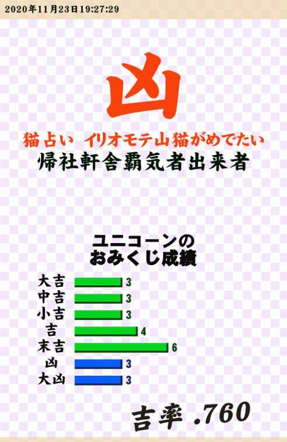 """今日のおみくじ!やっぱりなぁ??<br /> 麻雀の配牌がひどかった。<br /> まぁ結果論ですけどねぇ??<br /> <a style=""""text-decoration: none;"""" href=""""https://eam.573.jp/app/web/toOther.php?url=http%3A%2F%2Fp.eagate.573.jp%2Fgate%2Fe%2Ftoomikuji.html%3Ffrom%3Darticle"""">http://p.eagate.573.jp/gate/e/toomikuji.html?from=article</a>"""